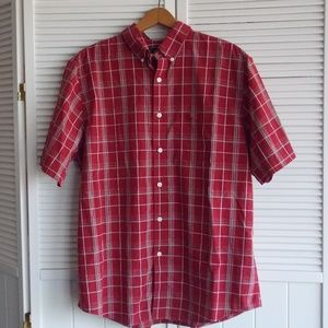 Dockers Men's Button Down Shirt Large